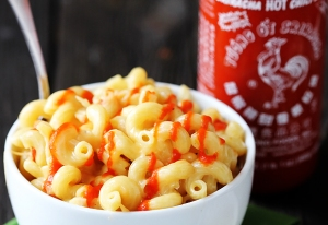 Macaroni & Cheese and Sriracha