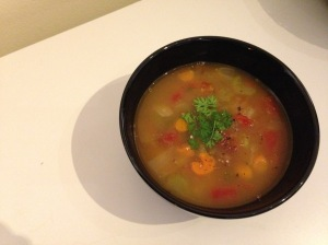 White Bean Vegetable Quinoa soup